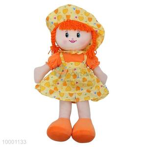 60cm Good Quality Cloth Doll With Suspender Skirt
