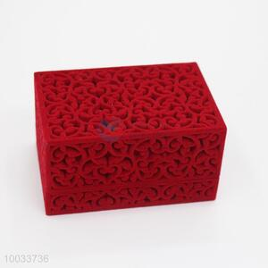 Creative design hollow red pendant packaging gift box