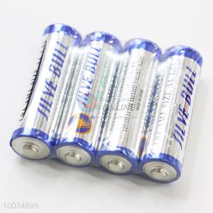 High Quality AA 1.5V Alkaline Battery with Steel Lid