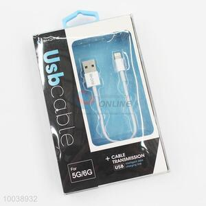 Low price usb transmission cable for iphone 5g/6g