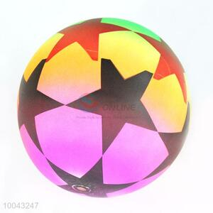 50g 16cm star pattern colorful volleyball toy bouncy ball