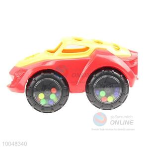 Hot sale red and yellow  toy car for boys
