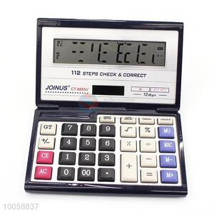 12 Digit wholesale 112 steps check&correct calculator for sale
