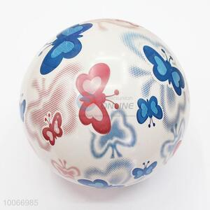 Inflatable butterfly printed pvc beach ball