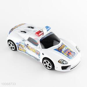 Promotional Plastic Inertia Police Car Toys for Kids