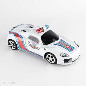 Cool Plastic Inertia Police Car Toys for Kids
