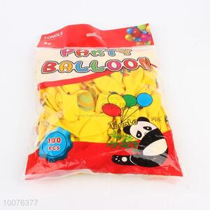 Top Quality Yellow Latex Balloons, Party Balloon for Celebrating