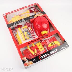 Wonderful Plastic Saw/Screwdriver/Wrench/Hammer/Plier/Helmet/Electric Drill Tool Set