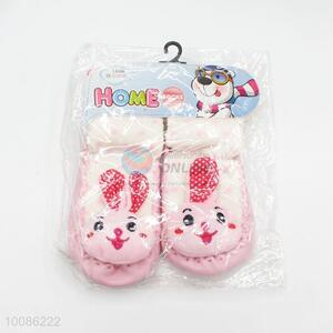 Wholesale cute animal rabbit baby shoes for winter