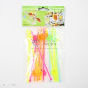 Wholesale Colorful Plastic Swizzle Stick