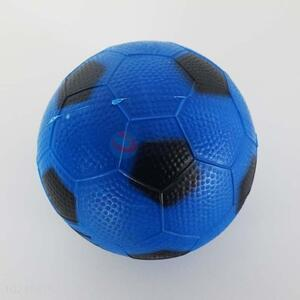 Soccer Ball Design Blue Color PVC Ball Toy for Kids