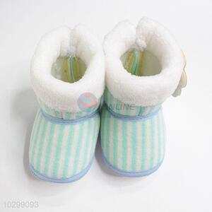 suitable price thin stripe baby shoes for winter