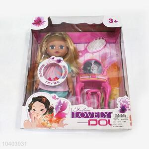 Promotion Gift Beautiful Baby Doll Set with Dresser