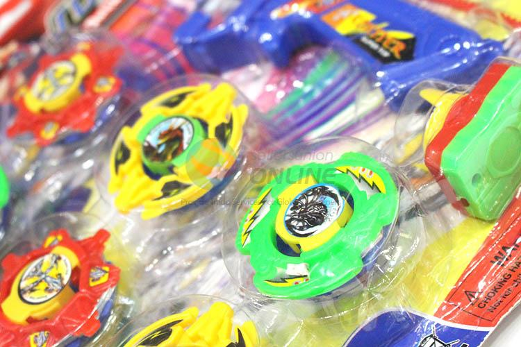 Custom Plastic Colorful Spinning Top For Children