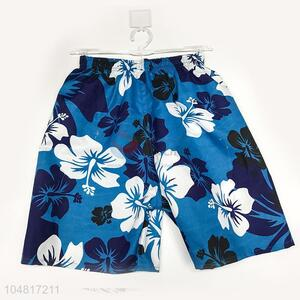 Utility and Durable Man Board Shorts Printed Quick Drying Shorts Beach