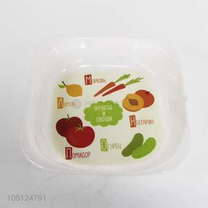 Factory Sales Fruit and Vegetable Printing Melamine Plate Melamineware