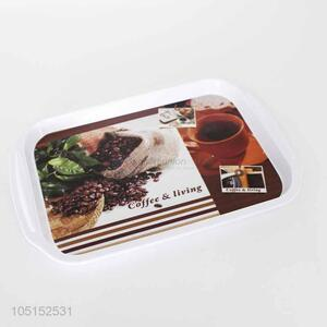 Resonable price melamine trays food serving tray