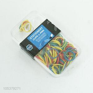 High-grade colorful elastic rubber band