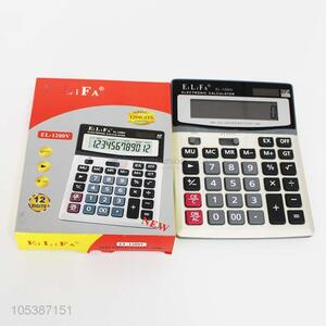 Ready sale 12-digits electronic plastic calculator