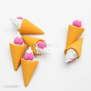 Wholesale creative cute ice cream eraser for kids