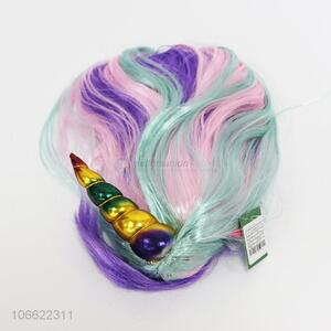 Good Quality Colorful Unicorn Wig Party Wig
