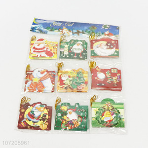 Competitive Price 45PC Christmas Paper Wish Card