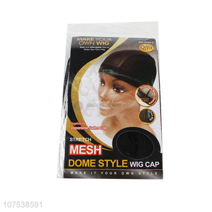 Good Sale Stretch Mesh Dome Style Wig Cap For Making Wigs