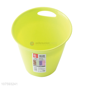 Good quality multi-purpose plastic ice bucket desktop plastic storage bucket