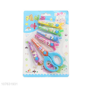 Office Supplies Paper Scissors Children Craft Scissors