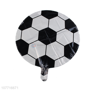 Wholesale football balloon decorations popular for children
