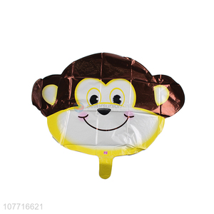 Low price cartoon animal monkey balloon decoration for children