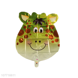 Low price kids cartoon animal giraffe balloon decoration
