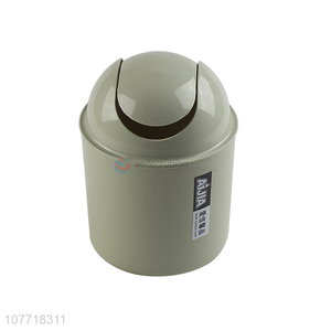 Eco-friendly household mini trash bin can for table