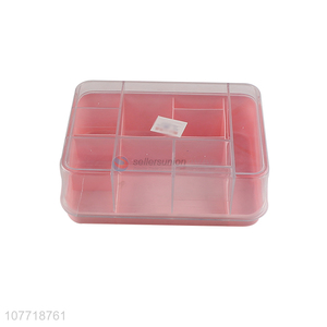 Low price household table storage box with lid