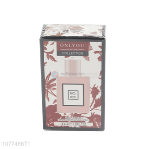Unique style No.825 women daily perfume mist commuter perfume