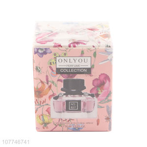 Excellent design pink girl daily deodorant floral perfume spray