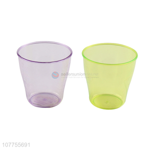 Hot Sale Colorful Plastic Water Cup Cheap Drinking Cup