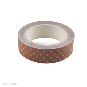 China factory polka dot pattern washi tape for gift packing