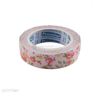 New design flower pattern washi tape for journal scrapbook notebook