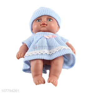 Factory direct sale baby play house toy vinyl doll