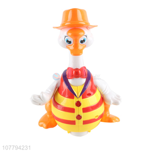 High quality singing duck toy cartoon musical toy