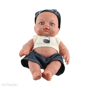Creative design vinyl doll toys baby toys for children