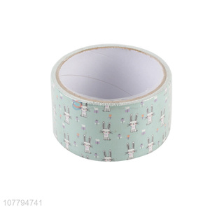 Good quality kawaii cartoon rabbit washi tape masking tape for scrapbooking decoration