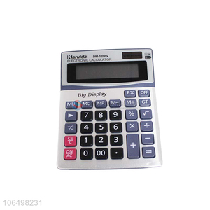 China manufacturer 12 digits electronic calculator for office use