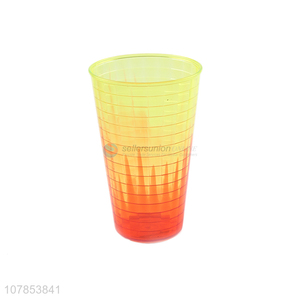 Creative design orange plastic drinking cup household gargle cup