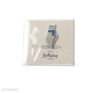 Cheap price birthday paper greeting cards for sale