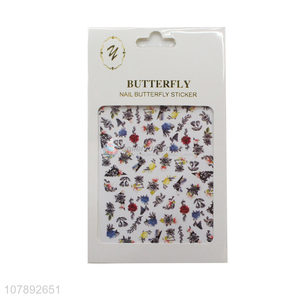 Popular products flower pattern lady nail decoration nail stickers
