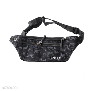 Popular products waterproof sports nylon waist bag wholesale
