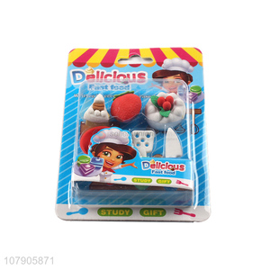Creative Children Stationery Students Cartoon Mini Style Erasers