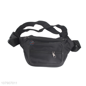 China supplier outdoor sports twill waist bag travel fanny pack